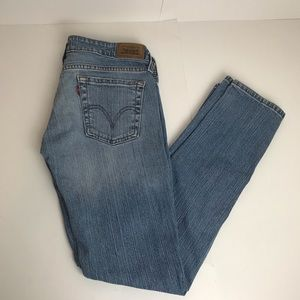 Levi's low straight 545 jeans